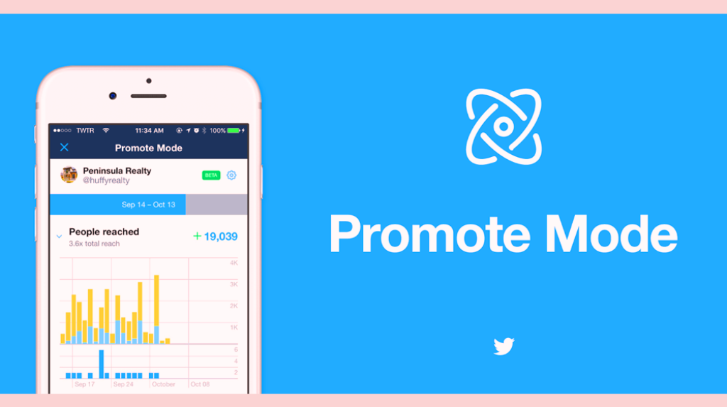Twitter rolls out its Promote Mode for Social Marketing