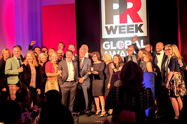 PR Week Global Awards announces
