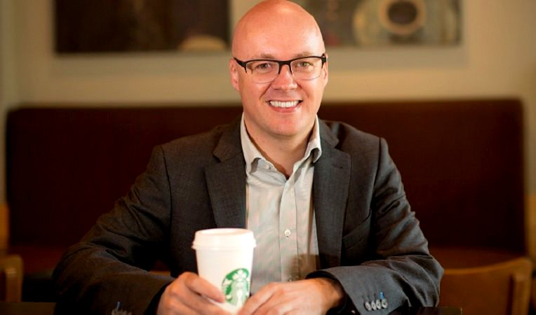 Simon Redfern, Chief of Starbucks's