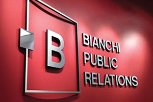 Bianchi Public Relations Firm tops amongst U.S PR firms