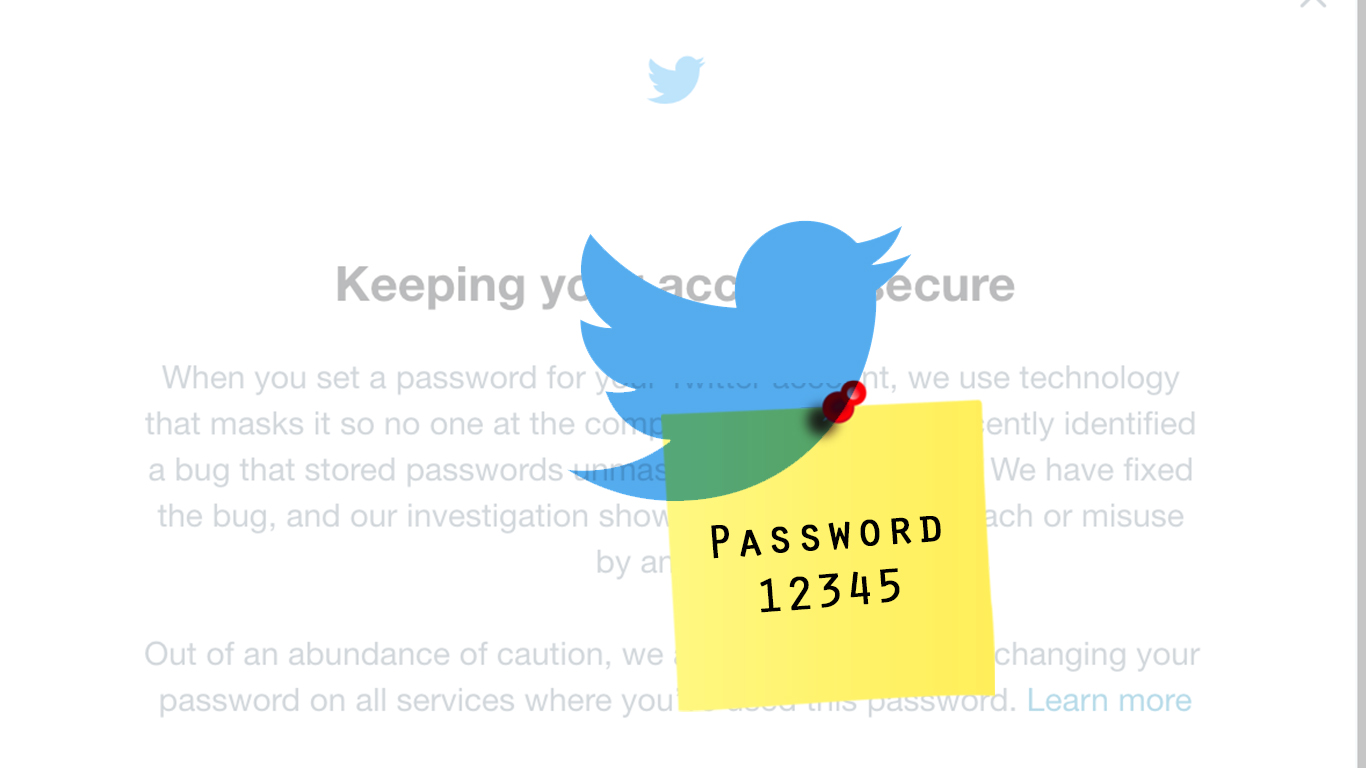 Twitter advises users to change passwords